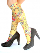 bild-kniestrumpf-yellow-paisley-hotlook