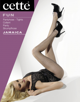 Cette Jamaica - Hot Fishnettights