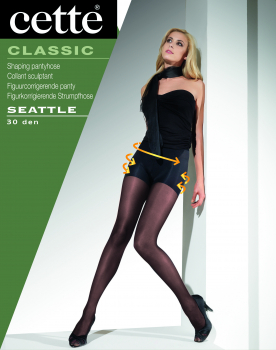Cette Seattle -Tights- with shaping panty - 30 DEN