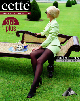 Cette Brighton - Tights Size Plus - 20 DEN