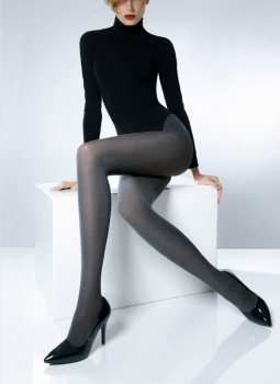 6cdc18ff7 Pierre Mantoux Collant Cotton 70 - opaque tights with egyptian cotton - 70  DEN