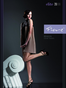 Fiore Idalia - Tights with Satin Gloss Effect - Transparent - 20 DEN