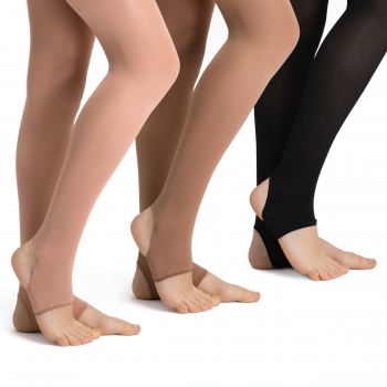 Rumpf - Stirrup 125 - Dance Tights - Strong Shiny - Opaque - 70 DEN