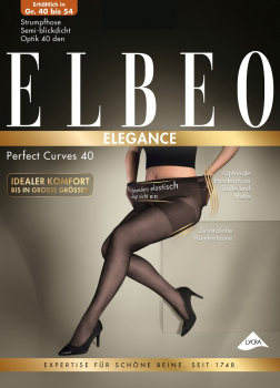 Elbeo - Perfect Curves 40 - Strumpfhose - Size Plus - 40 DEN