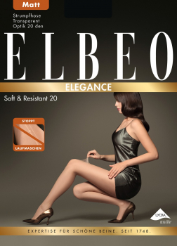 Elbeo Soft & Resistant 20 - Sheer Tights - Silk mat appearance - 20 DEN