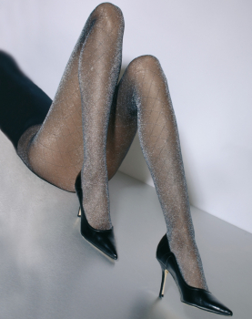 Cecilia de Rafael Orsay - Tights with Shiny Threads - 20 DEN