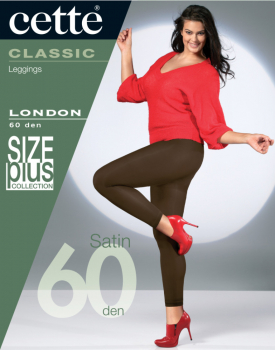 Cette London - SIZE PLUS Legging -  Opaque -  60 DEN