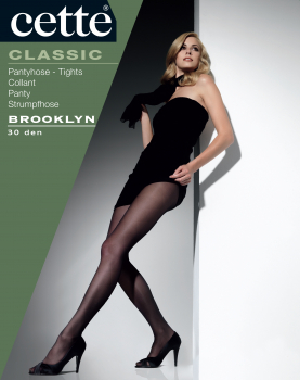 Cette  Brooklyn - Tights - Satine - Semi-Opaque - 30 DEN
