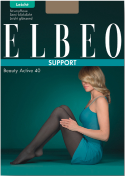 Elbeo Beauty Active 40 -Tights Light Support - 40 DEN
