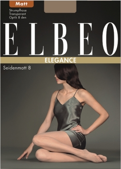 Elbeo Seidenmatt 8 - Sheer Tights - Silk-mat - 8 DEN