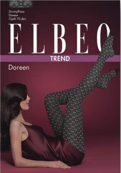 Elbeo Doreen - Fashion Tights - Fan Design - 70 DEN