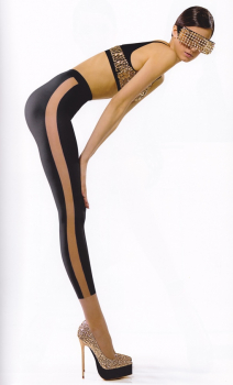 Fiore Melinda - Tights with Legging imitation pattern  - 40 DEN