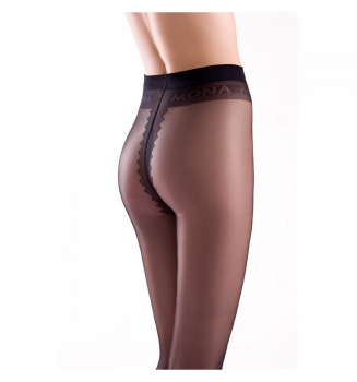 Mona - Dalia 15 Tights - Very thin and shiny - 15 DEN