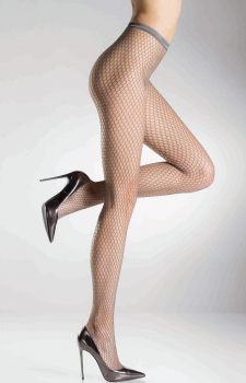 Pierre Mantoux Gilda - Fishnet Tights - Honeycomb shaped Net