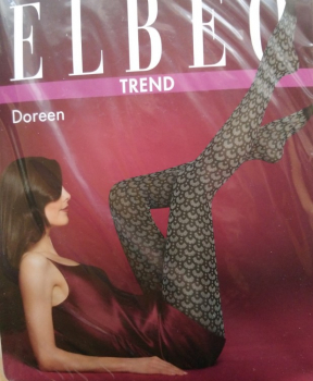 Elbeo Doreen - Fashion Strumpfhose - Fächer Design - 70 DEN