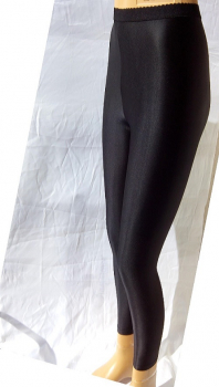 Platino Luxe Fata - Leggings - Wetlook Appearance - Backseam