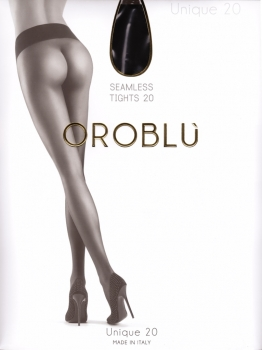 Oroblu Unique 20 - Seamless Tights - Broad Waistband - 20 DEN