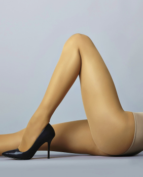 Samburu Onix - Shiny Tights - Semi-Opaque - 40 DEN
