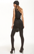 Platino Luxe Fata - Tights - Wetlook Appearance - Backseam